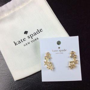 NWT Kate Spade Seeing Stars Earrings with Bag